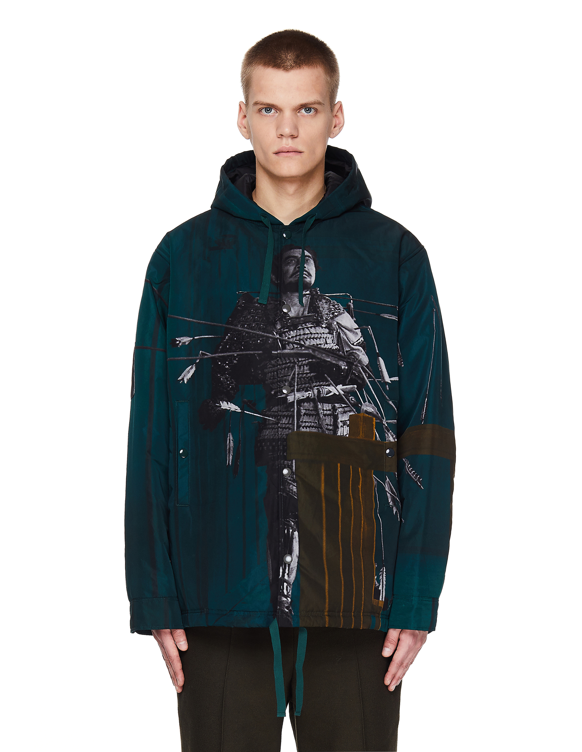 Undercover Printed Hooded Jacket