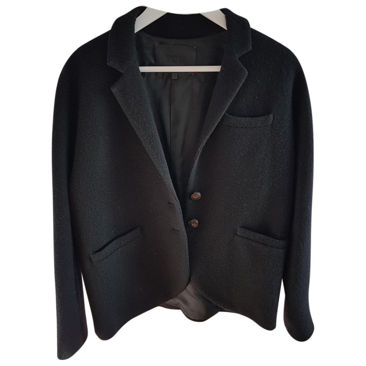Autre Marque - Veste   pour femme en laine - noir