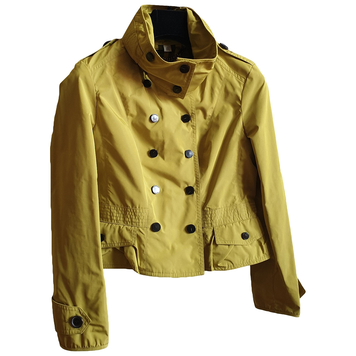 Burberry \N Yellow jacket for Women 40 IT