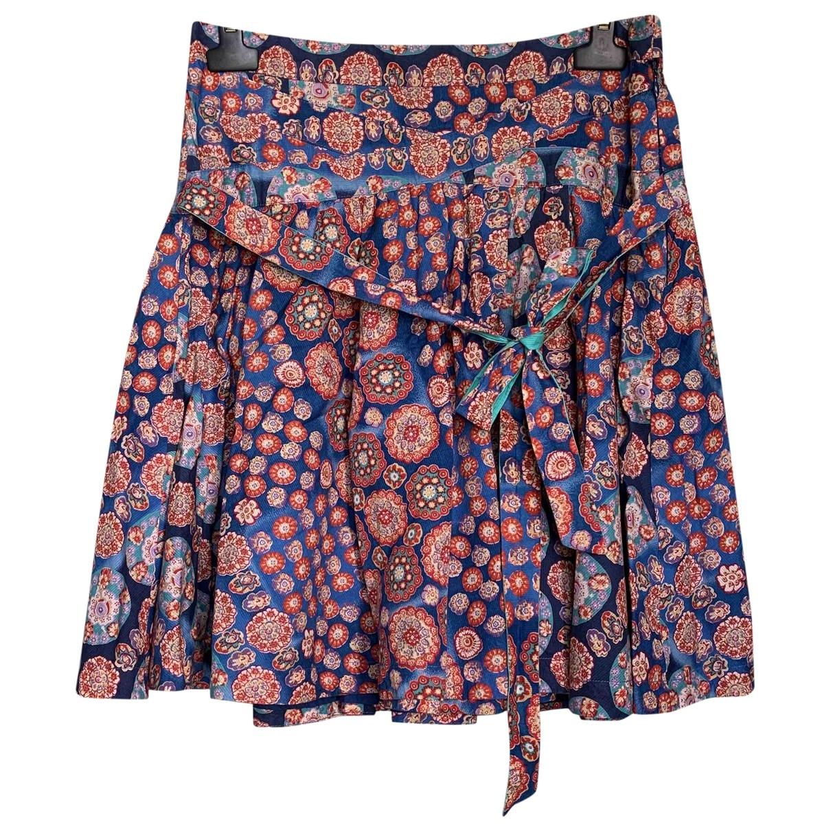Marc Jacobs \N Blue Cotton skirt for Women 6 US