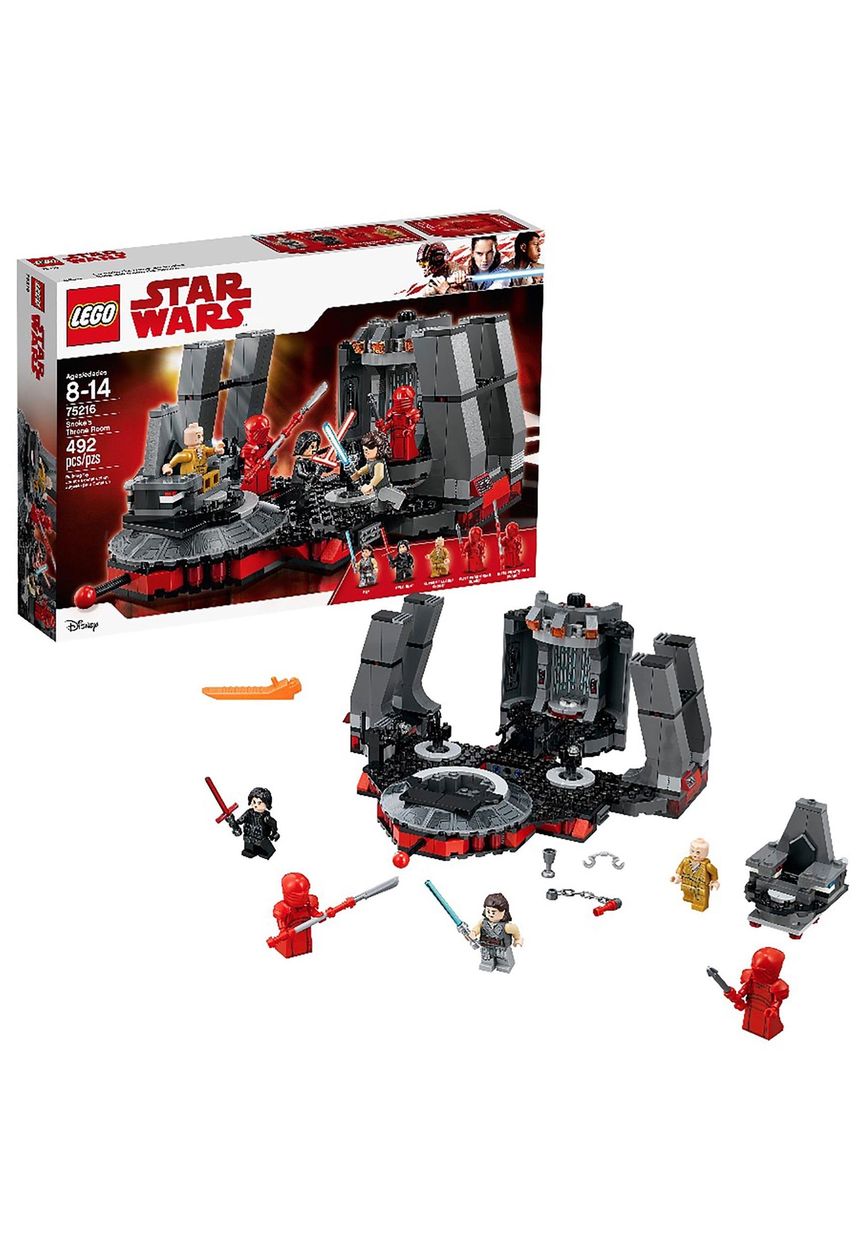 Star Wars Snoke's Throne Room Building Set LEGO