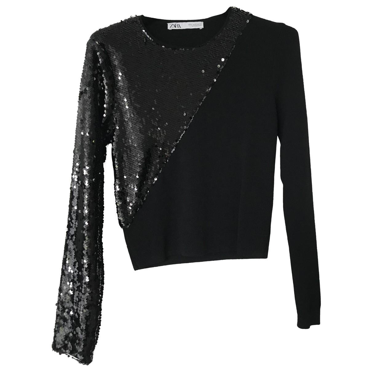 Zara - Pull   pour femme - noir