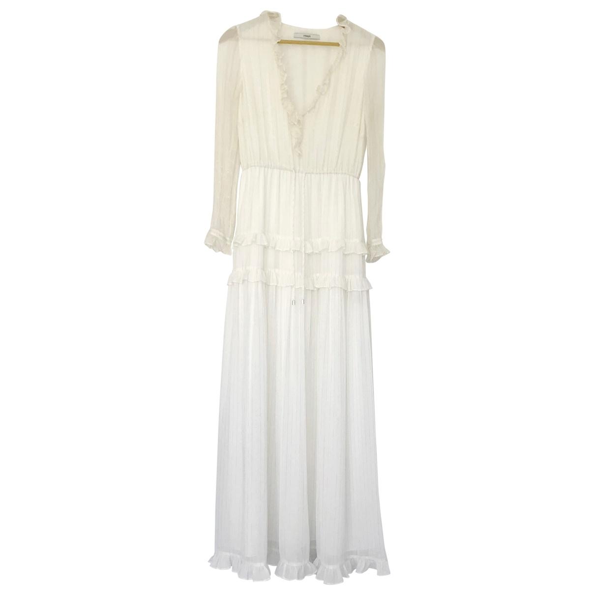 Uterque \N Kleid in  Weiss Seide