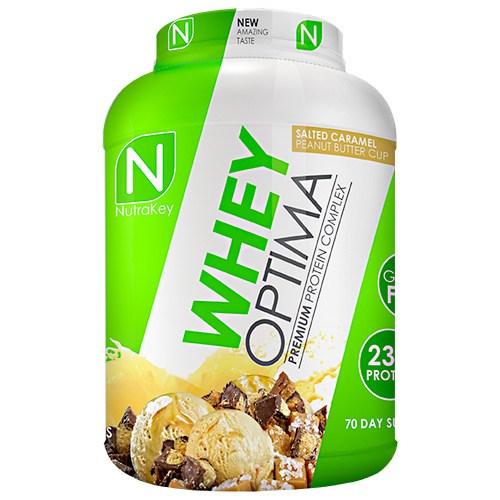 WHEY OPTIMA Caramel Peanut Butter 5 lbs by Nutrakey