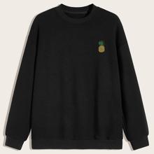 Guys Pineapple Graphic Sweatshirt