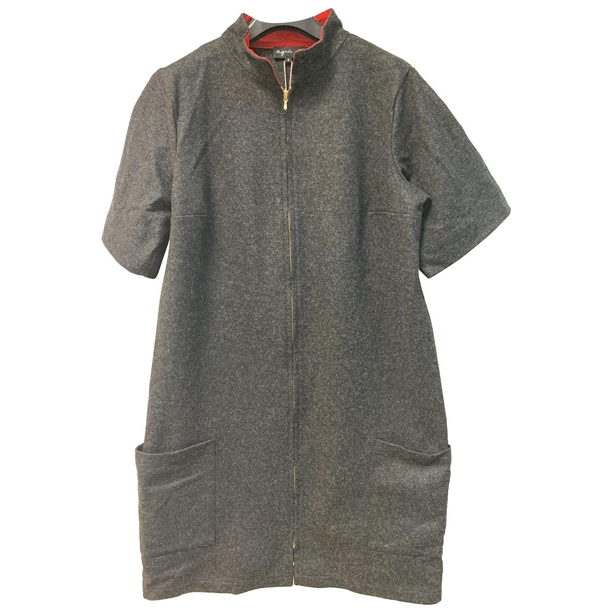 Agnes B. \N Kleid in  Grau Wolle