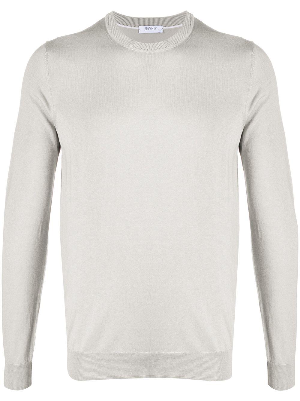 Silk Blenc Crewneck Sweater