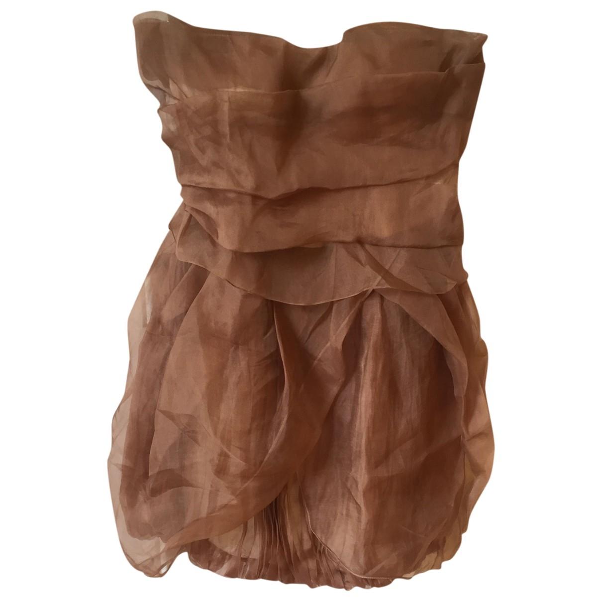 Mini vestido de Seda Gianfranco Ferre