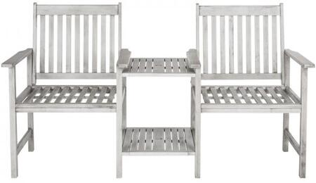 PAT7014B Brea Twin Seat Bench in