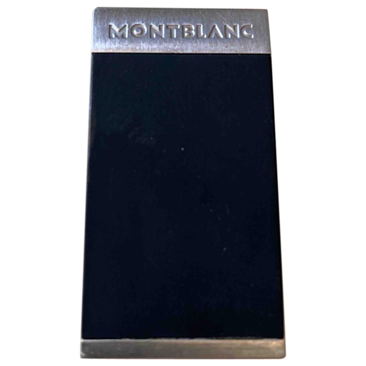 Montblanc - Objets & Deco   pour lifestyle en metal - noir