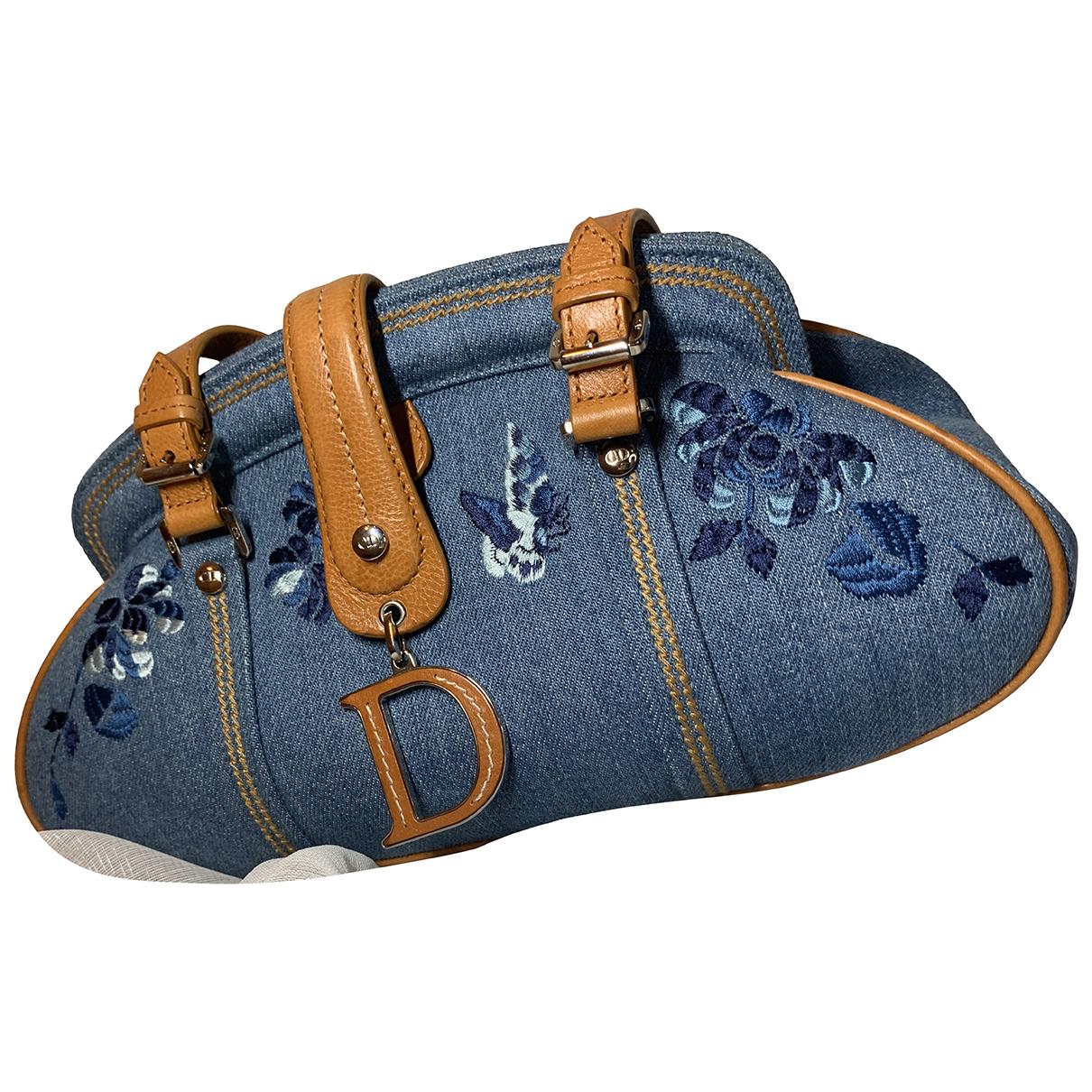 Dior \N Blue Denim - Jeans handbag for Women \N