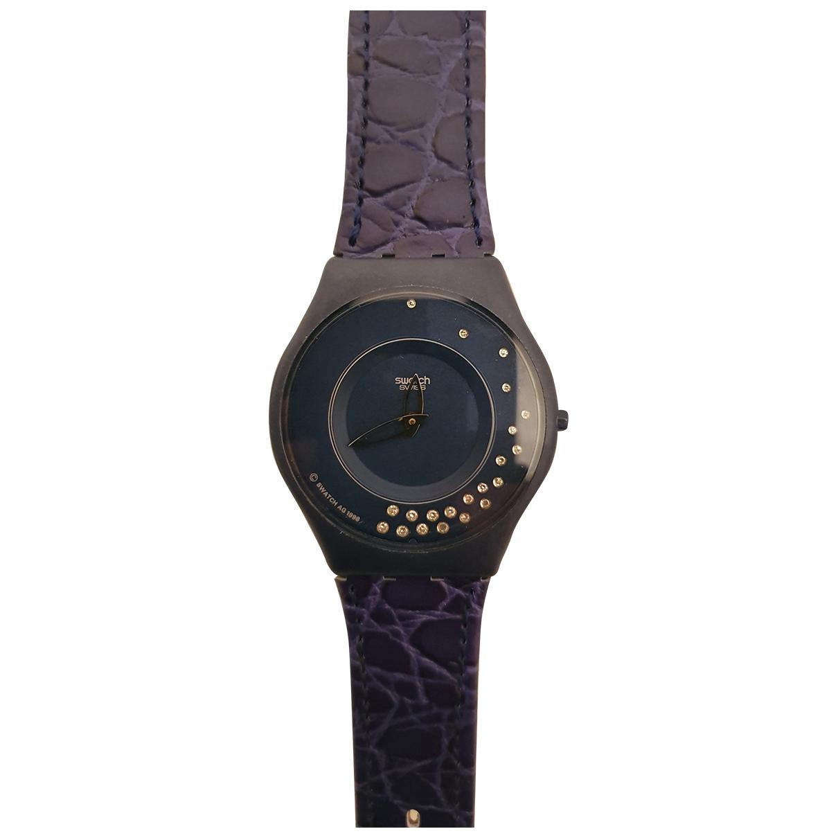 Swatch - Montre   pour homme en autre - bleu
