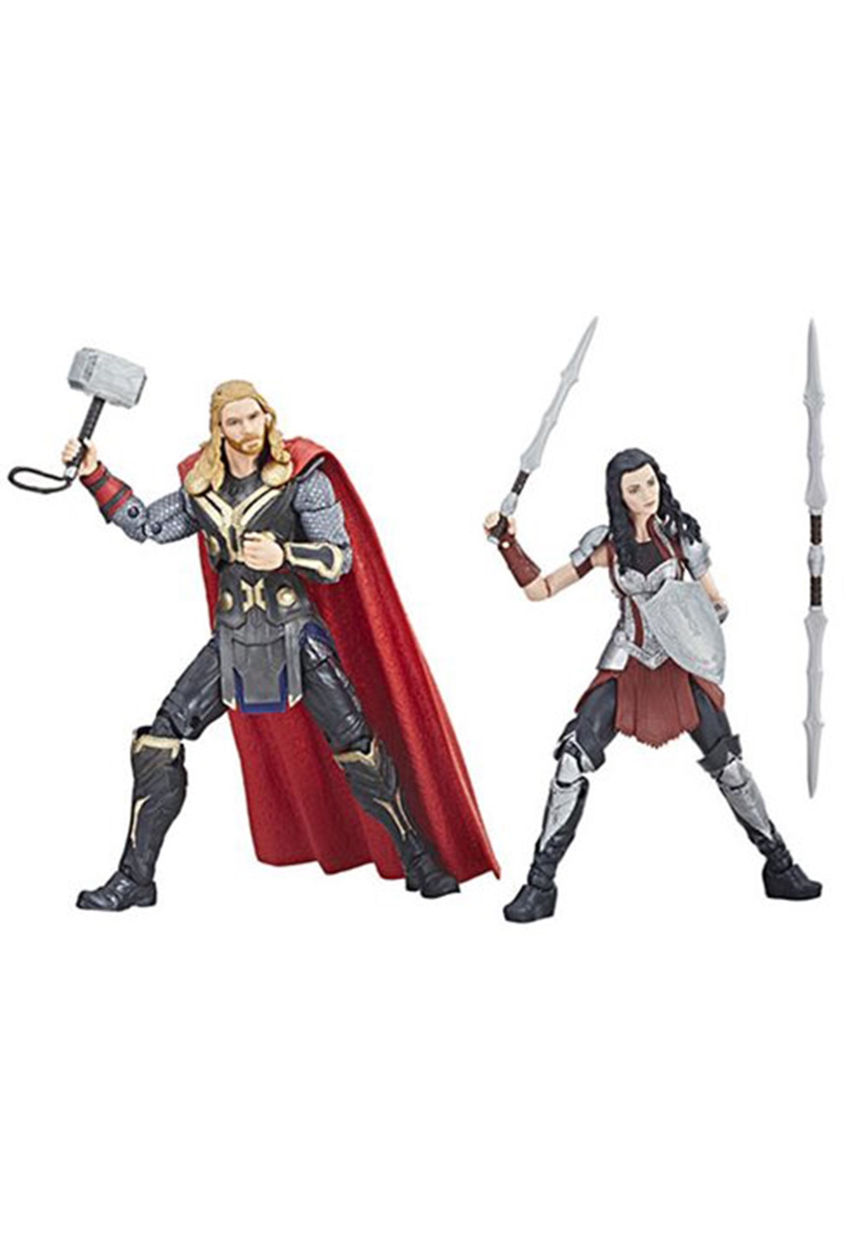 Marvel Studios: The First Ten Years - Thor: The Dark World Thor and Sif Action Figures