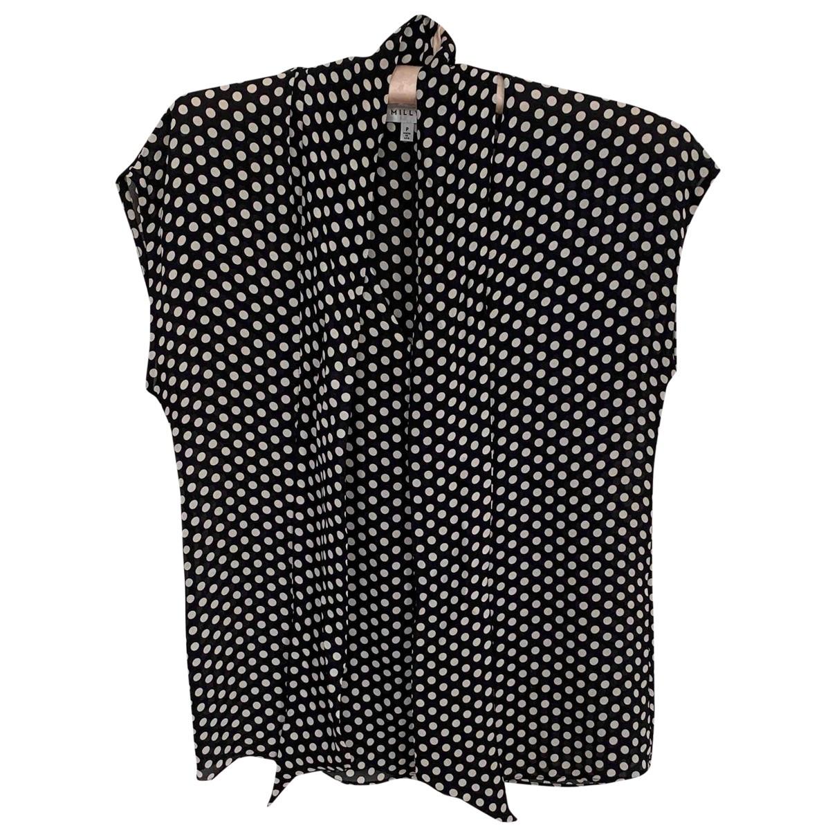 Milly \N Black Silk  top for Women S International