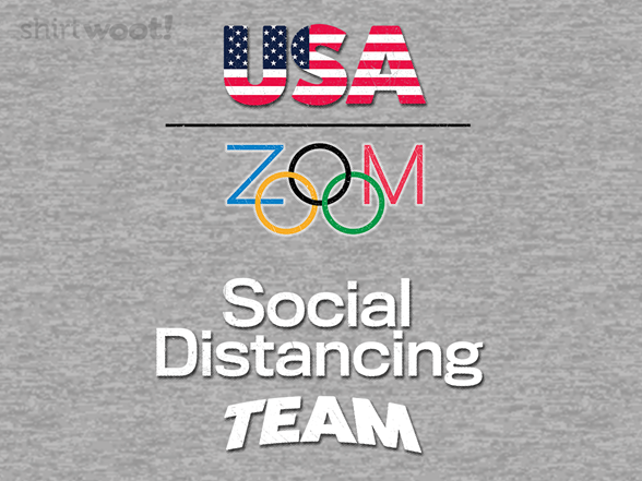 Social Distancing Team T Shirt