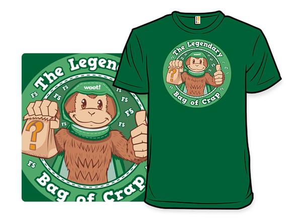 The Legendary Bag Of Crap T Shirt