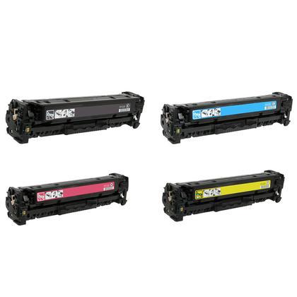 Compatible Canon 116 Toner Cartridge Combo BK/C/M/Y - Economical Box