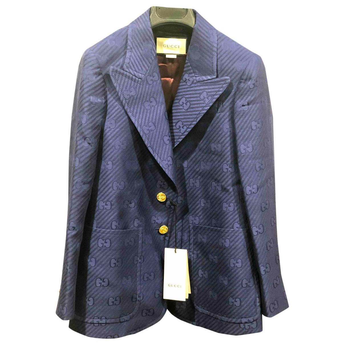 Gucci - Veste   pour femme en laine - violet