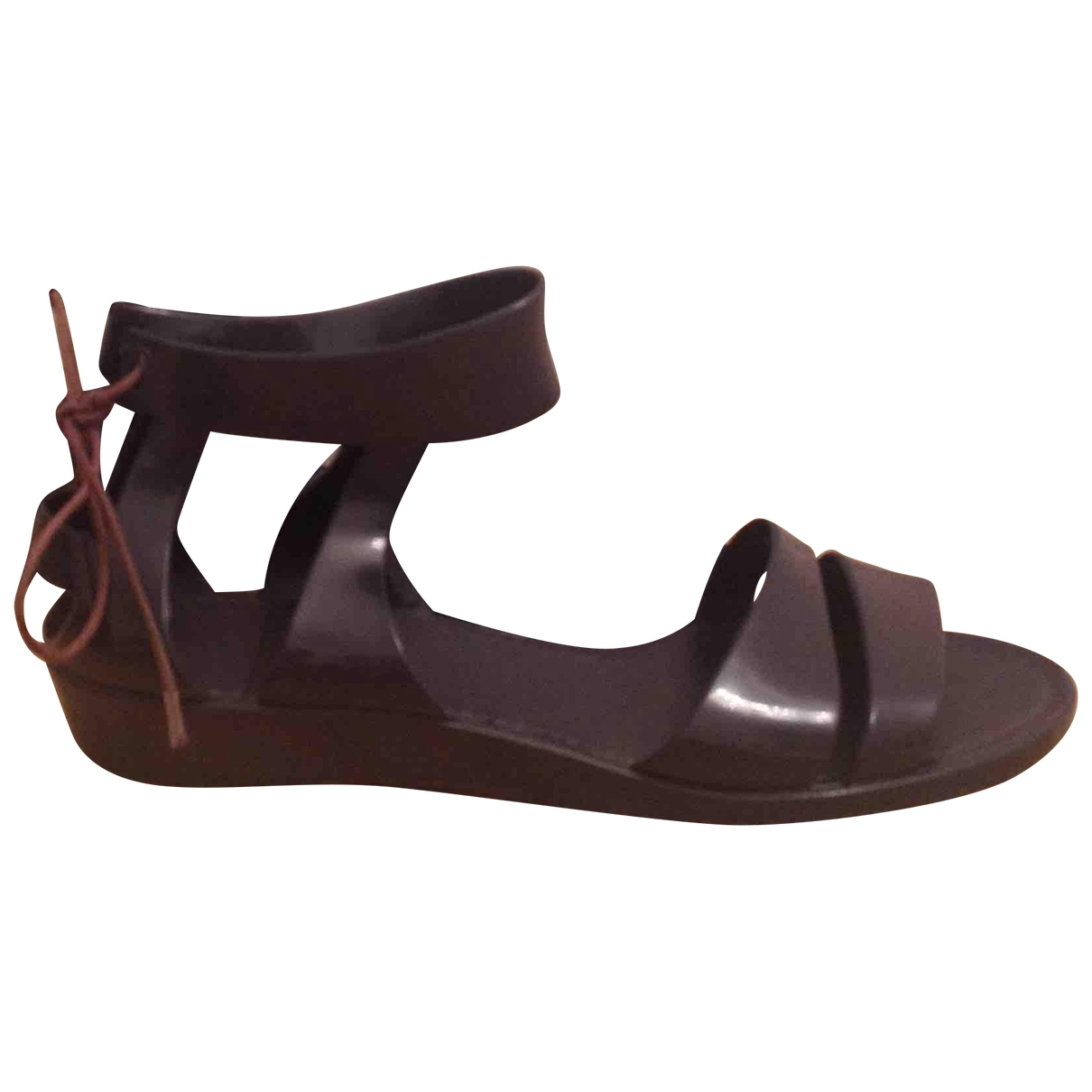 See By Chloé \N Purple Rubber Sandals for Women 39 IT