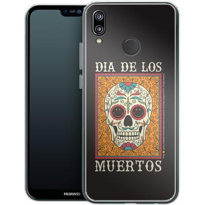 Huawei P20 Lite Silikon Handyhuelle - Dia De Los Muertos von Smiley®
