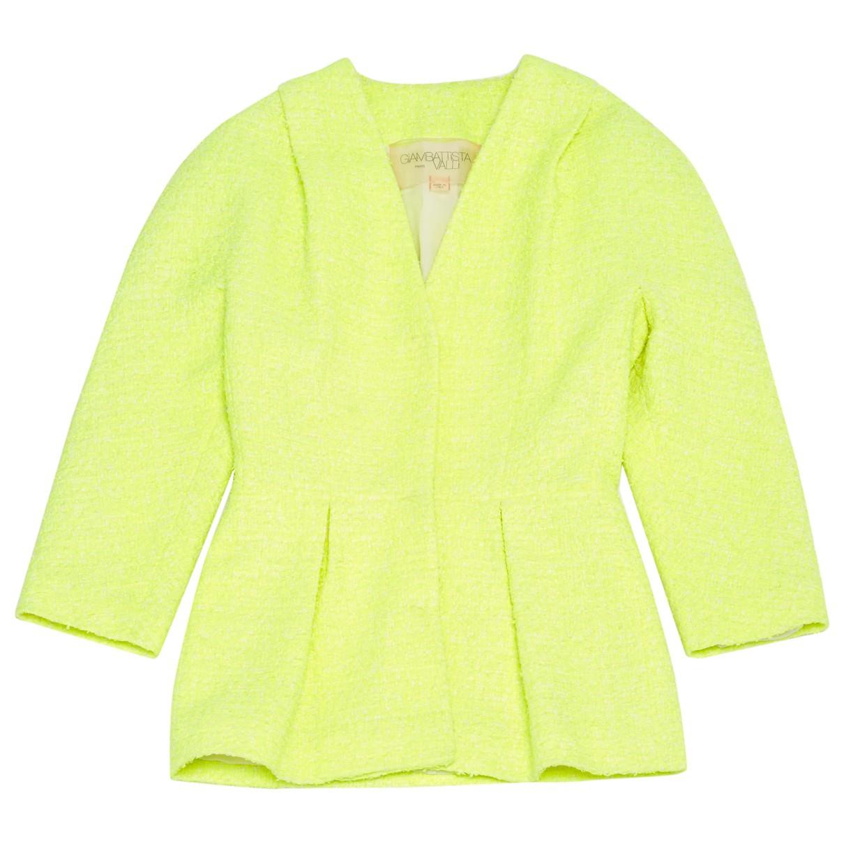 Giambattista Valli \N Yellow jacket for Women XS International