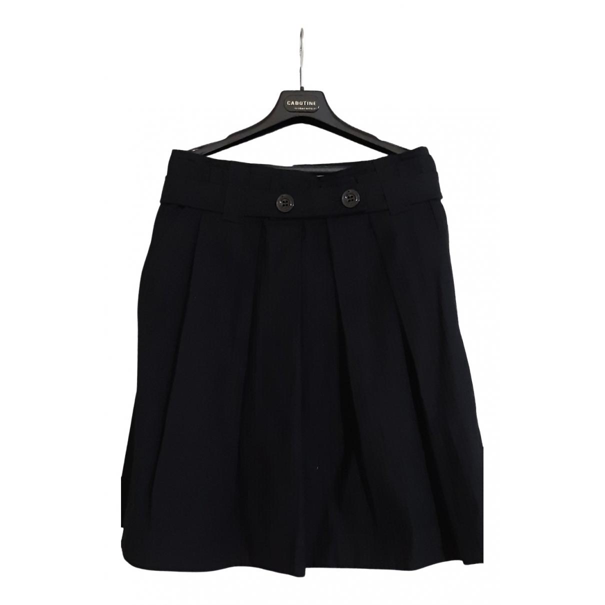 Sport Max - Jupe   pour femme en coton - noir
