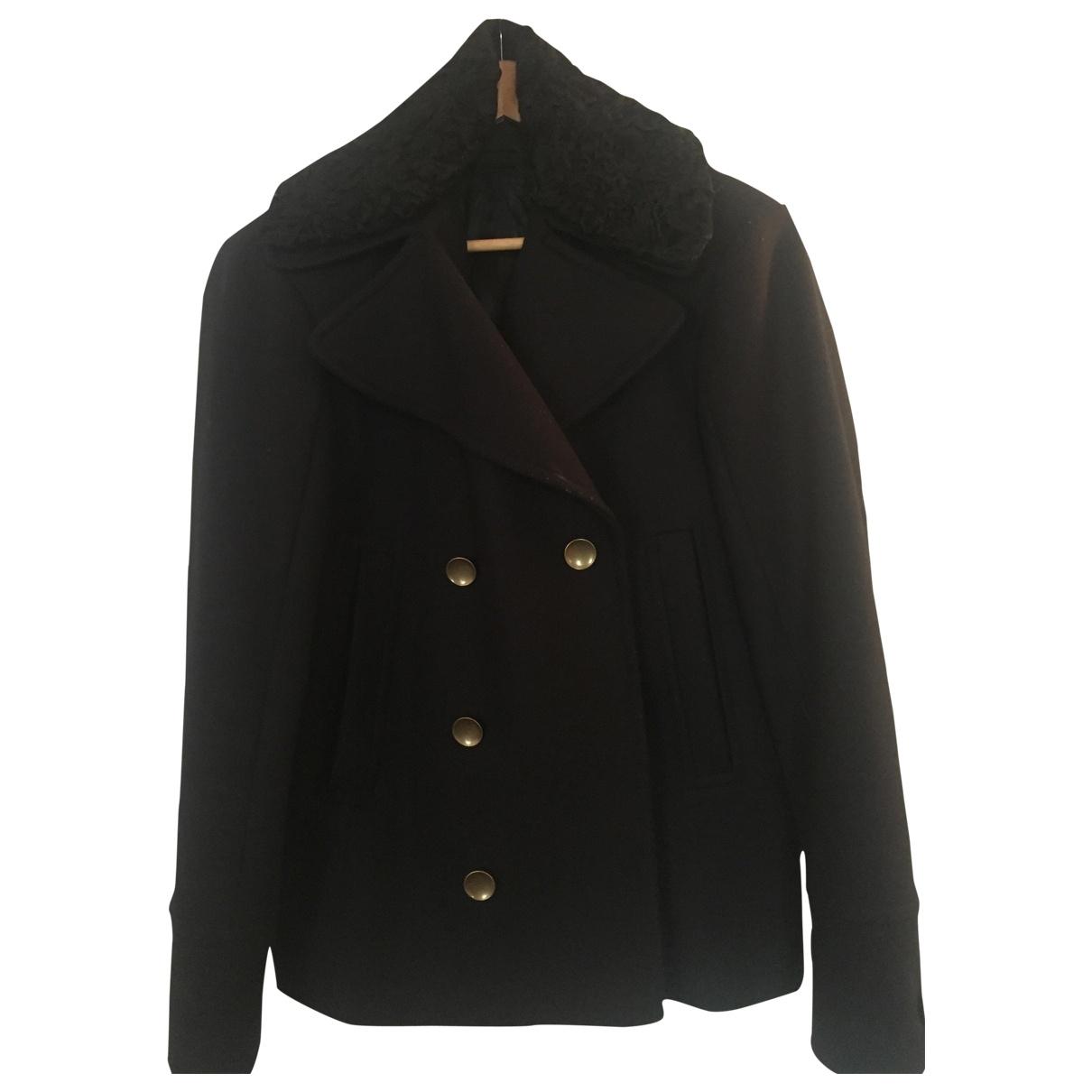 Diesel Black Gold - Manteau   pour femme en laine - bleu