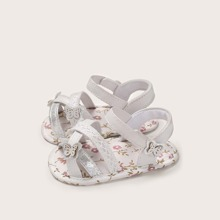 Baby Girl Butterfly Decor Sandals