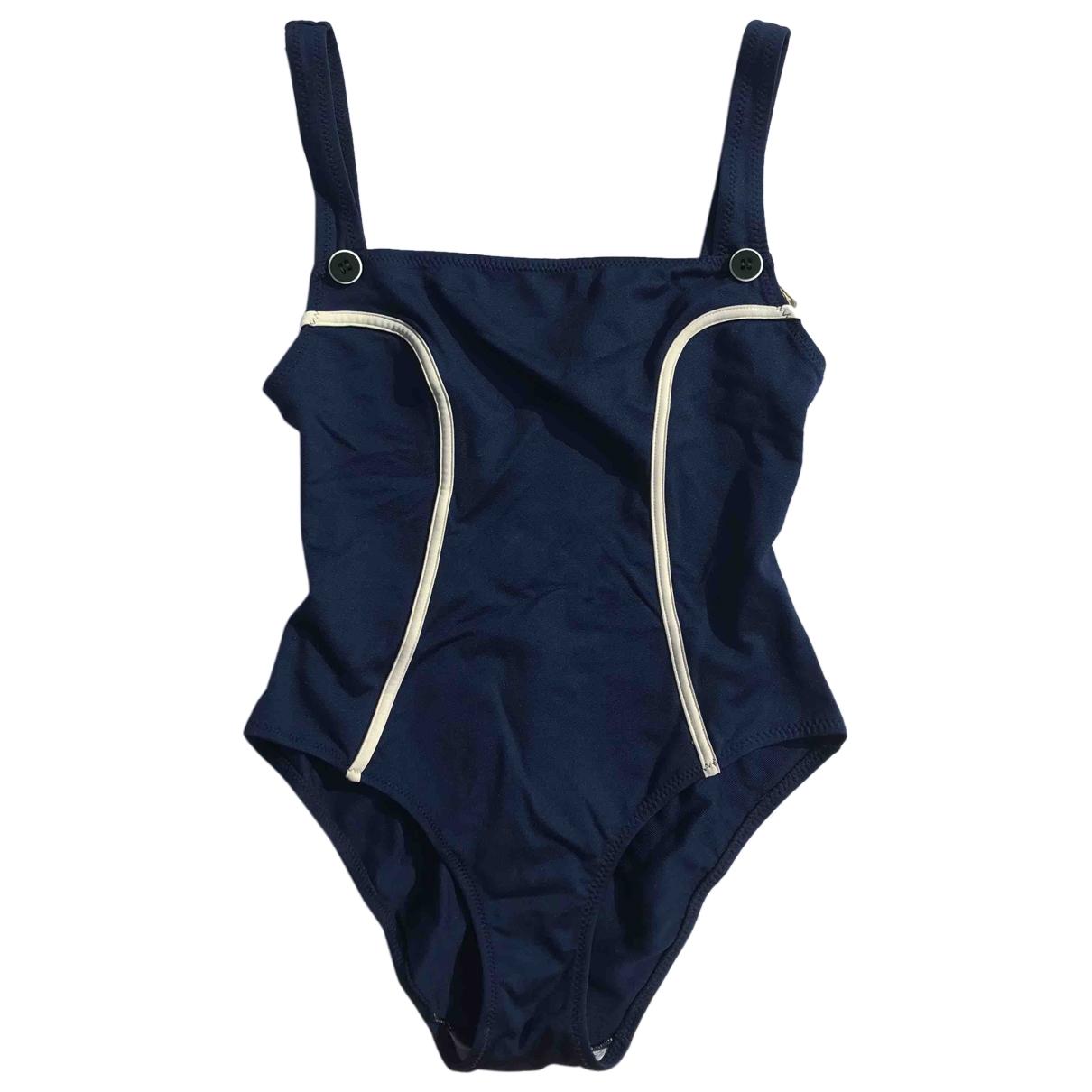 Cacharel \N Badeanzug in  Blau Polyester