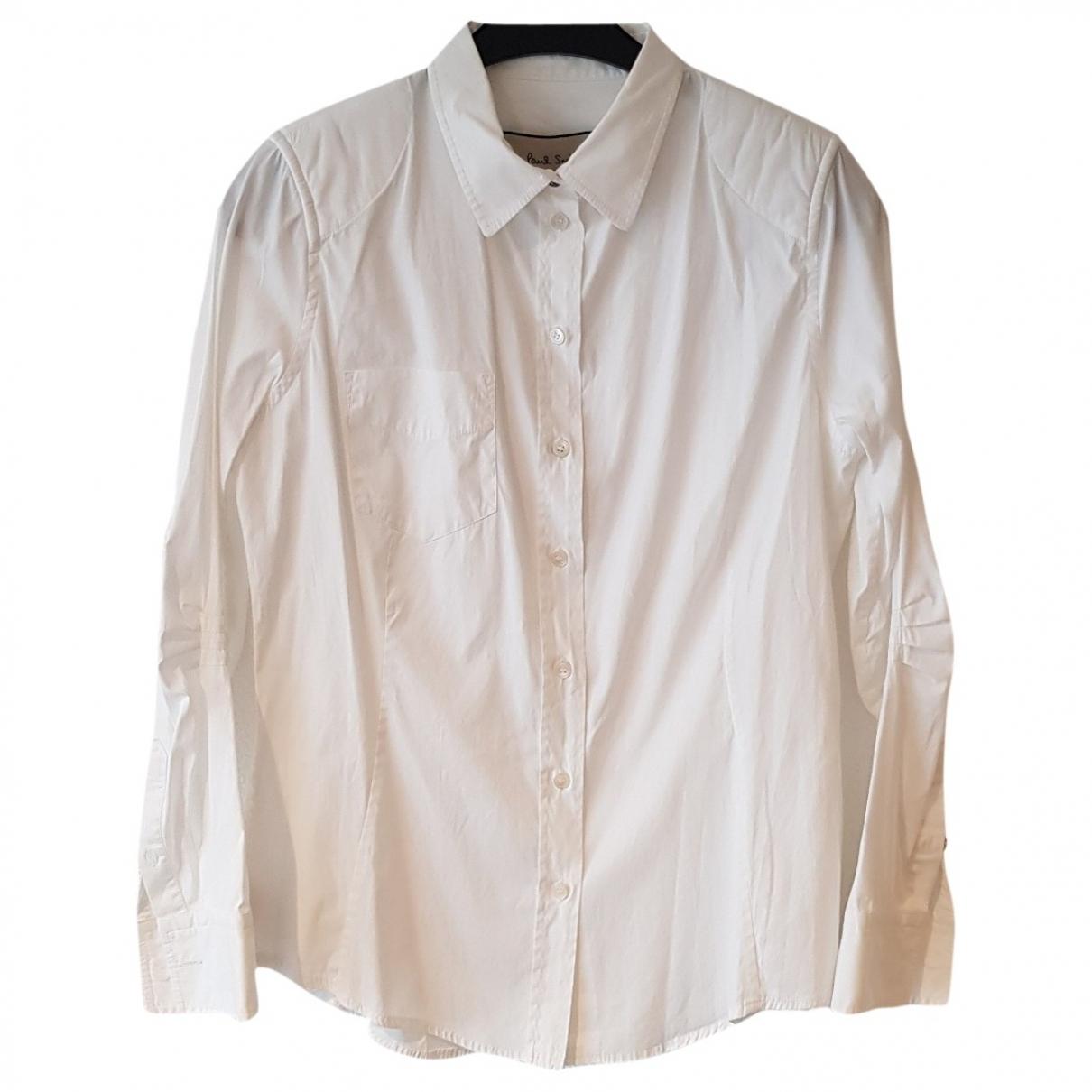 Paul Smith - Top   pour femme en coton - blanc