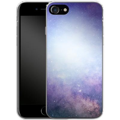 Apple iPhone 8 Silikon Handyhuelle - Star Nebula von caseable Designs
