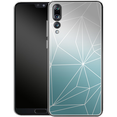 Huawei P20 Pro Silikon Handyhuelle - Simplicity 2 von Mareike Bohmer