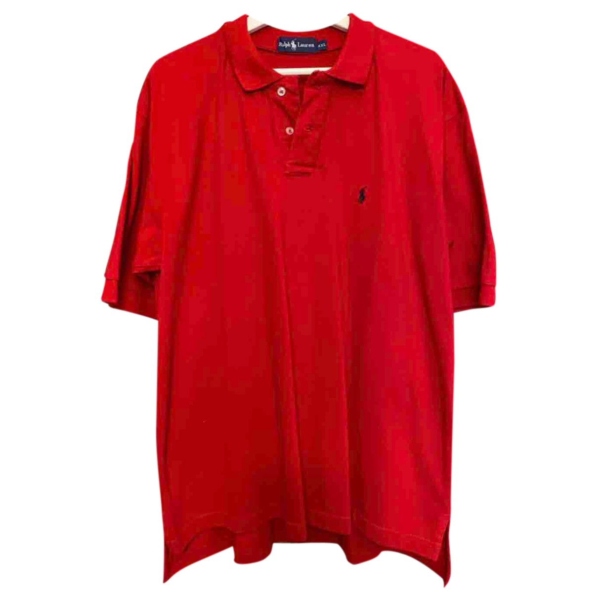 Ralph Lauren N Red Cotton Polo shirts for Men XXL International