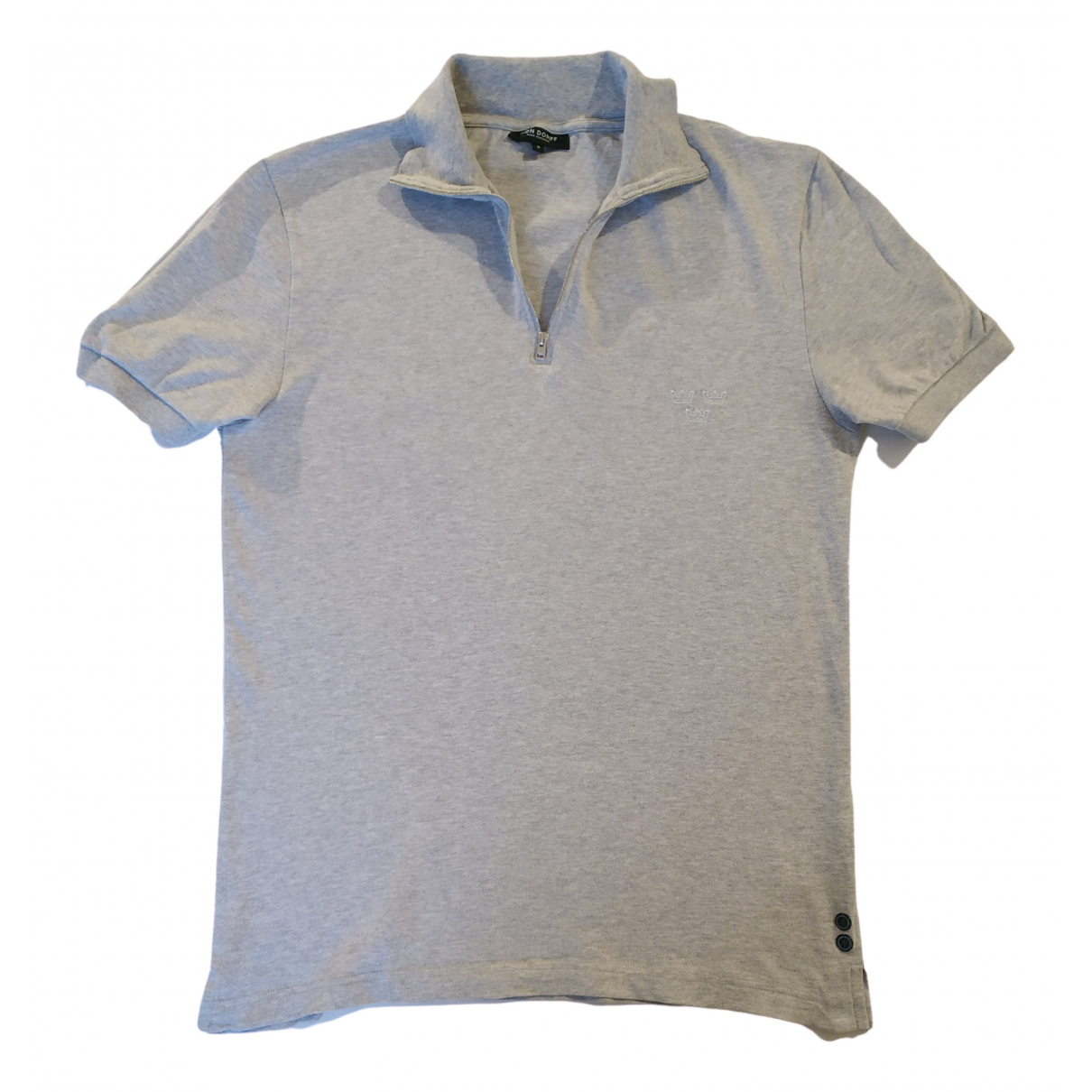 Ron Dorff \N Poloshirts in  Grau Baumwolle