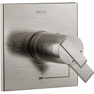 Delta T17T067 Ara TempAssure 17T Series Dual Function Thermostatic (Brilliance Stainless)
