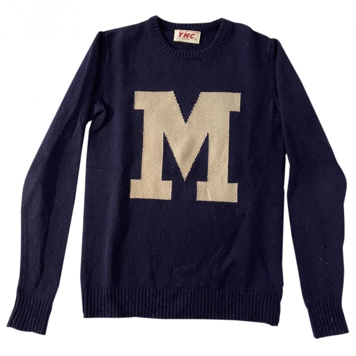 Ymc \N Navy Wool Knitwear & Sweatshirts for Men S International