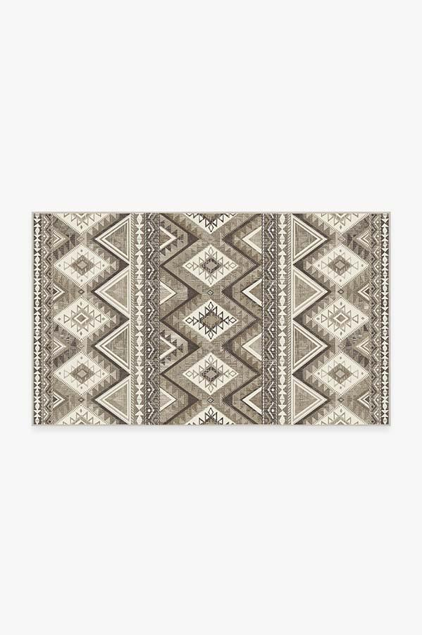 Washable Rug Cover & Pad | Pueblo Natural Rug | Stain-Resistant | Ruggable | 3'x5'