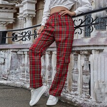 Pantalones Tartan Preppy