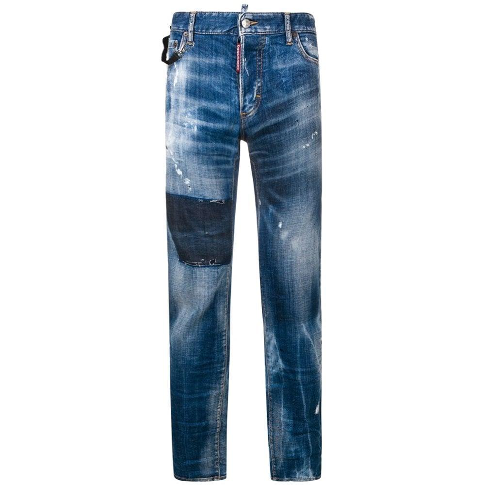 Dsquared2 Buckle Cool Guy Jeans Blue Colour: BLUE, Size: 36 30