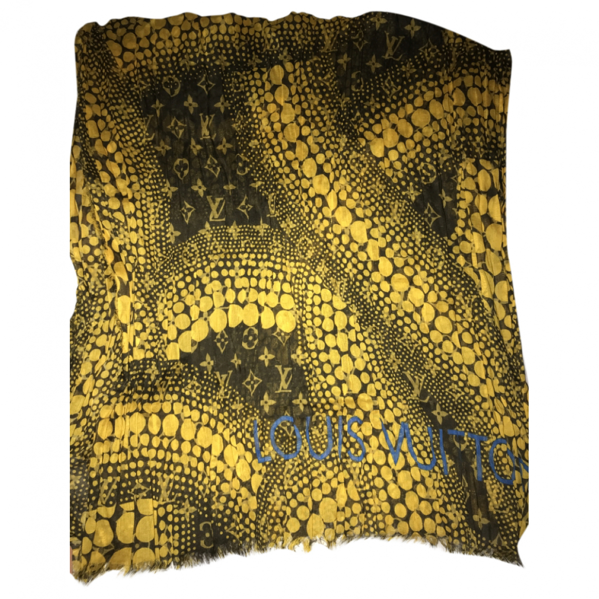 Louis Vuitton \N Schal in  Gelb Baumwolle