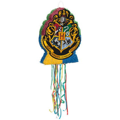 Harry Potter 1 Shaped Drum Pull Piñata NEW For Birthday Party
