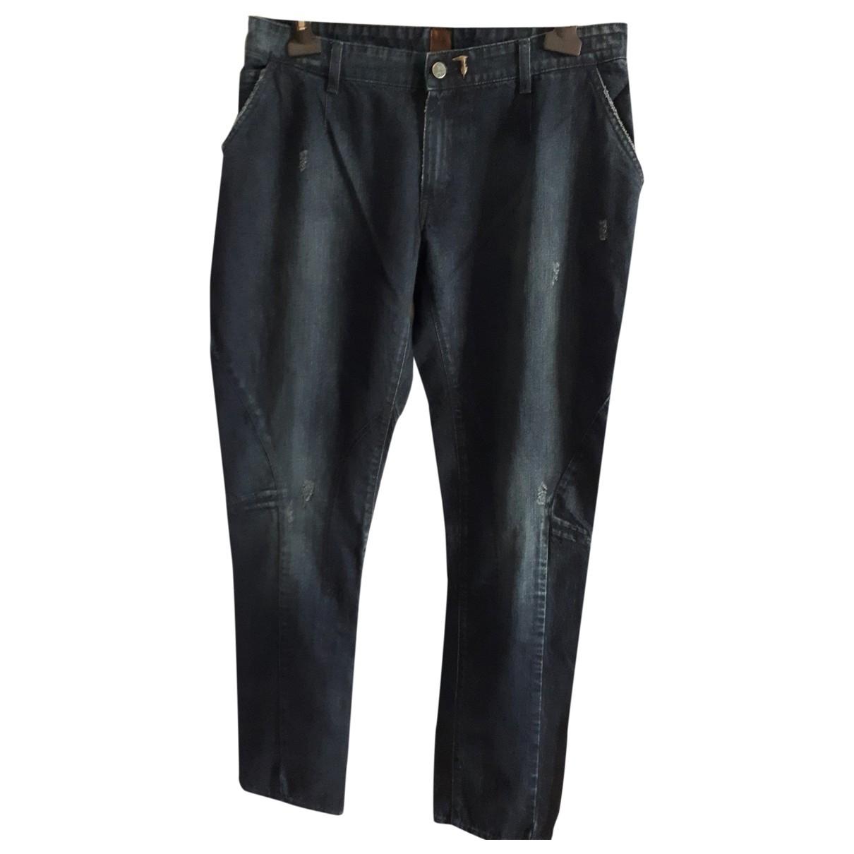Trussardi Jeans \N Cotton Jeans for Men 46 FR
