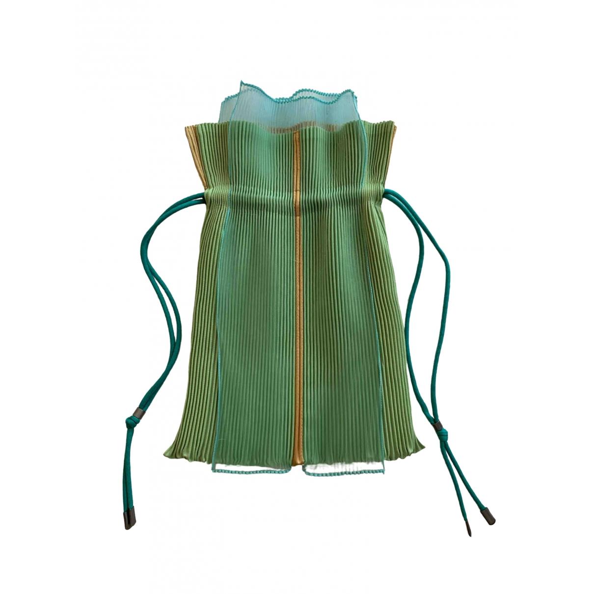 Pleats Please \N Green handbag for Women \N