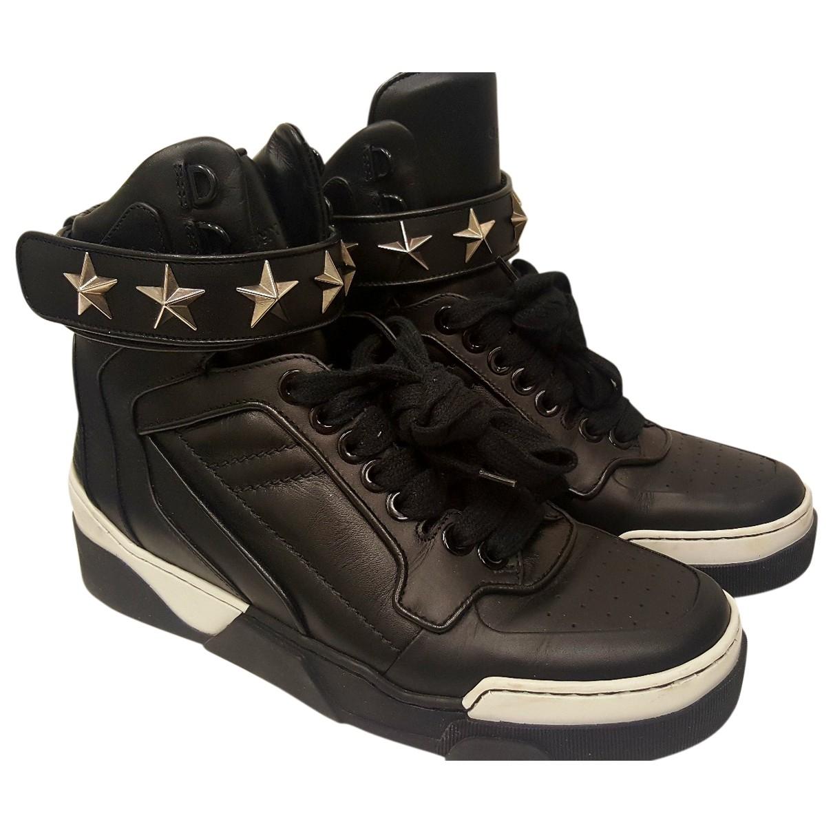 Givenchy - Baskets Tyson pour homme en cuir - noir