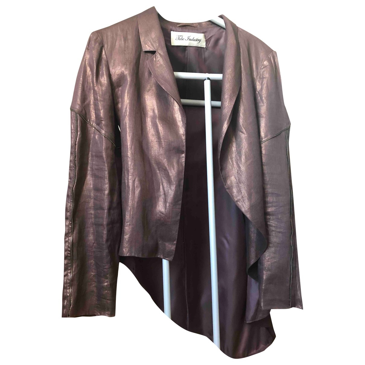 Non Signé / Unsigned \N Brown Cloth coat  for Men S International