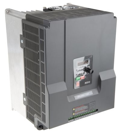 RS PRO Inverter Drive, 3-Phase In, 599Hz Out 11 kW, 380 → 480 V ac, 26.4 A