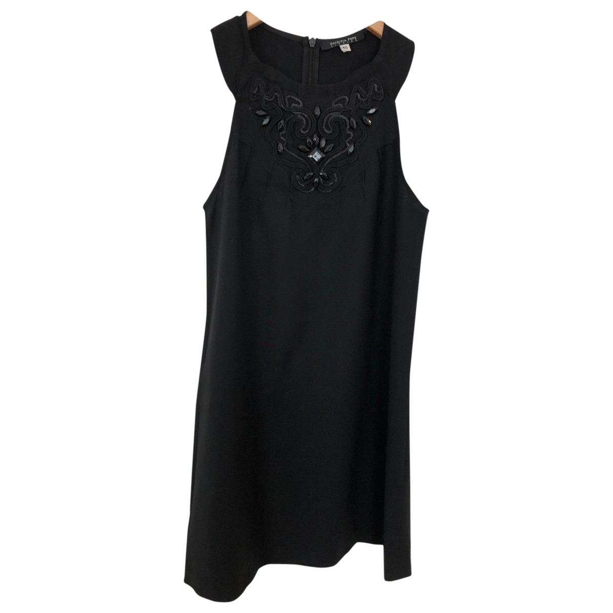 Patrizia Pepe \N Black Wool dress for Women 40 IT