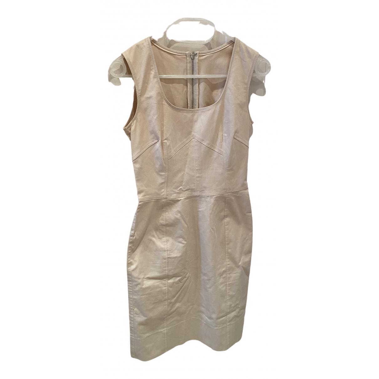 Dolce & Gabbana \N Beige Cotton dress for Women 40 FR