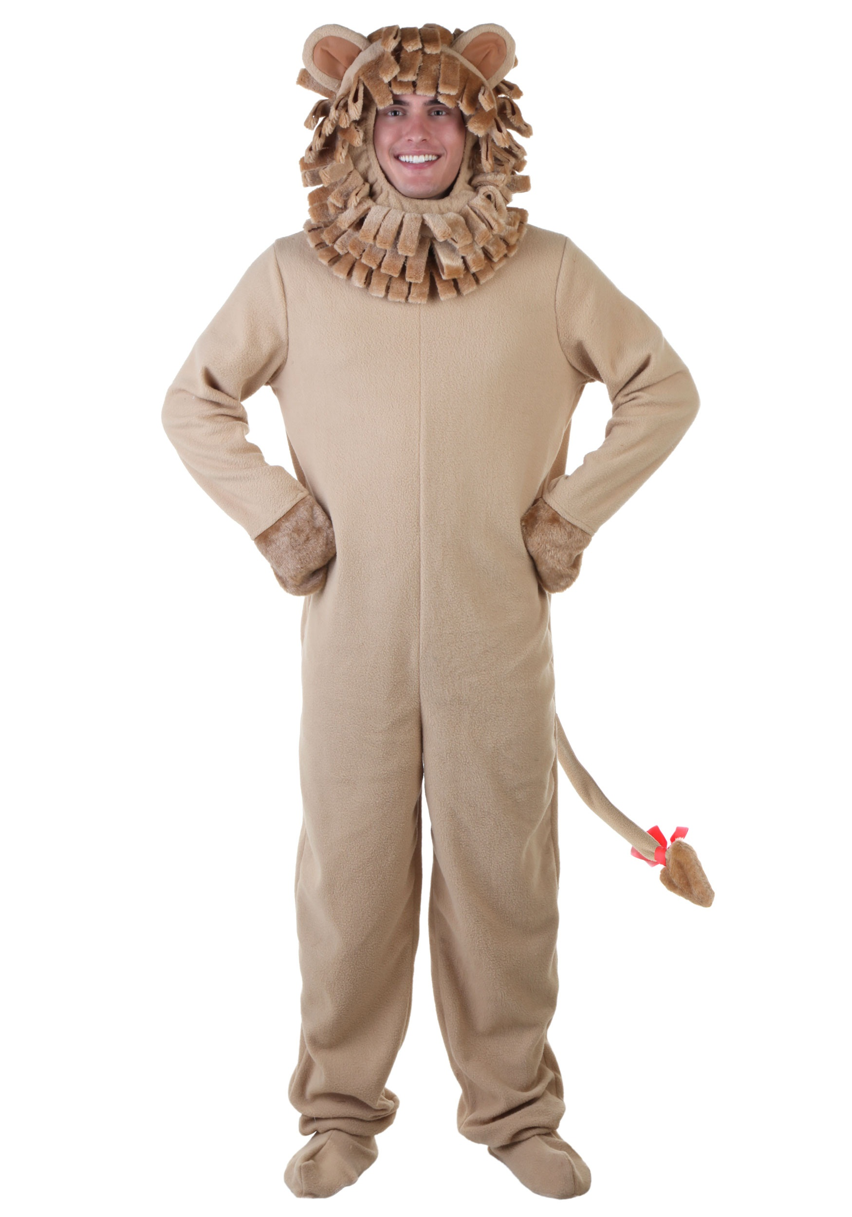 Lion Jumpsuit Costume for Adults