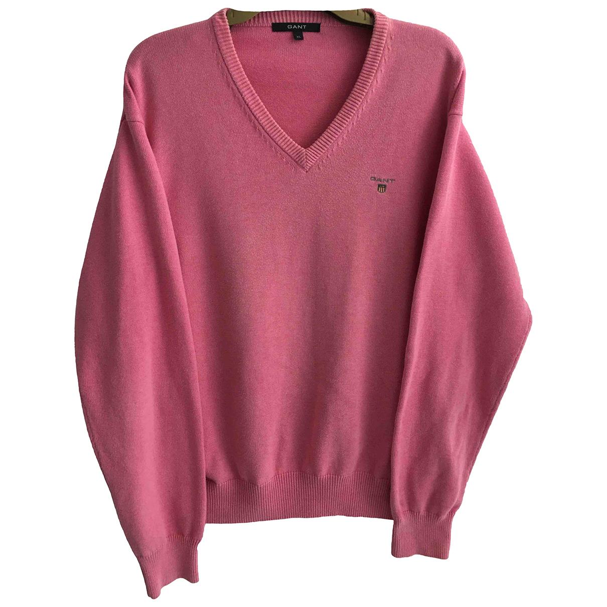 Gant \N Pullover.Westen.Sweatshirts  in  Rosa Baumwolle